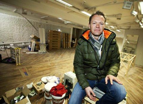 SATSER: Morten Lønstad forteller at den nye satsingen blir noe helt annet enn restaurantene han driver i Tromsø.