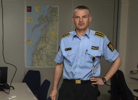 Visepolitimester Arne Hammer. Arkivfoto.
