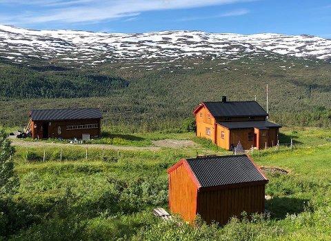 Stridens kjerne - denne fjellgården. Nå skal saken avgjøres av Statsforvalteren i Nordland.