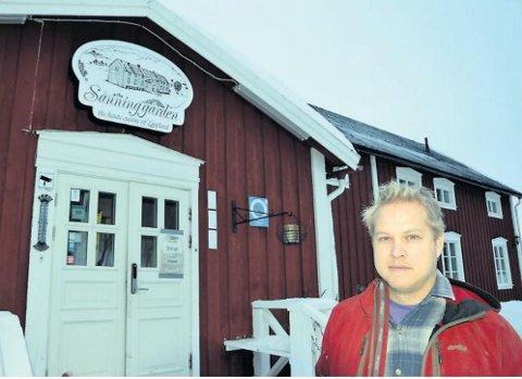 Andreas og Maud Öberg kjøpte Sånninggården i 2013. Nå skal stedet selges.