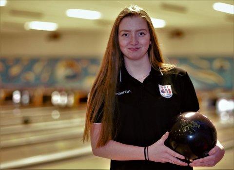 Helene Johanne Johnsrud fra Hønefoss var med på double-laget som tok sølv i EM.