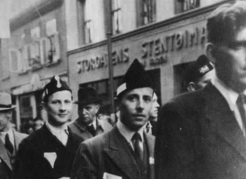 Glimt fra razziaen i Hønefoss, september 1944.