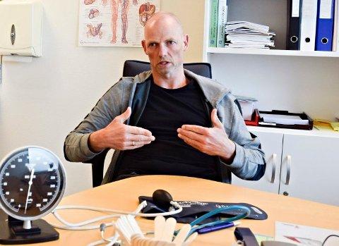 SVAR: Bjarne Oure testet seg for korona på fredag. Nå har han fått svar.