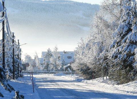 KALDT: Januar fortsetter med kulde. Til helgen er det meldt 18 minusgrader på Sokna, ifølge Yr.no.