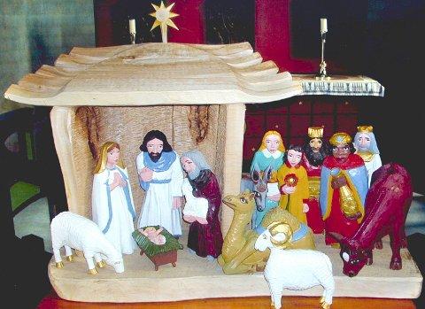 Julekrybben i Lillestrøm kirke