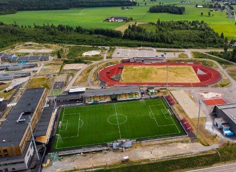 KAN FÅ EM: Jessheim stadion er ønsket som EM-arrangør av Norges Fotballforbund.