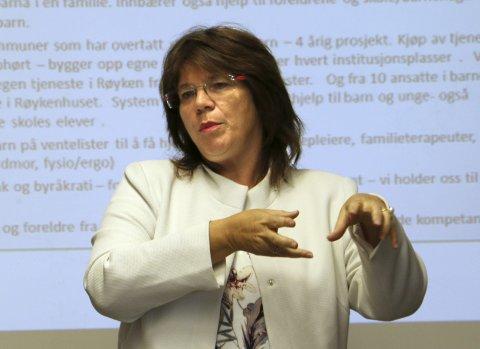 OMFATTENDE: Kommunalsjef Helga Tharaldsen mener at de ikke kunne avdekket avvikene i 100-meterskogen barnehage uten foreldrenes bekymringer.