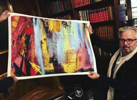 KOMMER: Ari Behn er en av kunstnerne som stiller ut på Grønsand gård kommende helg.