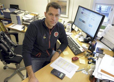 HAR TRUKKET SEG: Bjørn Lauritzen kan ikke lenger titulere seg som styreleder i Vestfold og Telemark Idrettskrets, etter at han trakk seg fra vervet i helgen.