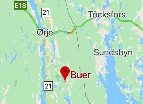 Grenseovergangen sør for Ørje går via Buer.