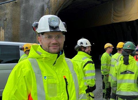 OKTOBER: Prosjektleiar Jørn Simonsen reknar med anleggstart i løpet av oktober. (Arkivfoto)
