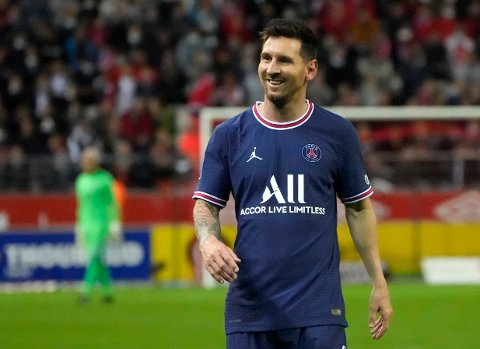 Lionel Messi spiller for franske PSG. Samtlige kamper i Ligue 1 kan du nå følge hos Svelviksposten.