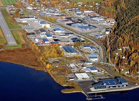 MER HANDEL: Tuven-sletta kan få 10 000 kvadratmeter mer butikker. Det tilsvarer størrelsen på dagens Tuven-senter.