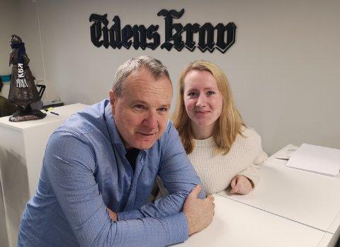 Ellif Odde har vært kulturansvarlig i TK i 20 år. Nå tar nyhetsredaktør Lise Kristin Valgermo over.