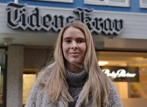 - Jeg har ei venninne fra Kristiansund, som jeg hadde besøkt tre ganger. Jeg visste derfor at det var fint her, sier Helle Svanevik som 1. desember startet som journalist i Tidens Krav.