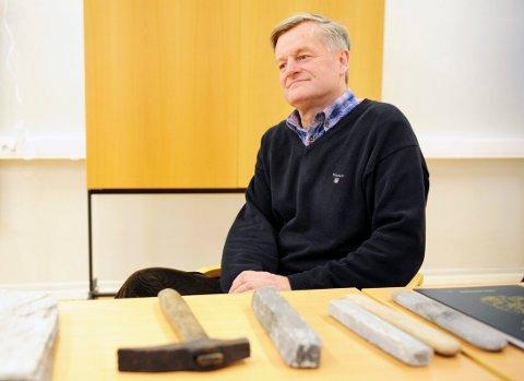 KONSTITUERES: I første omgan nå vil Haakon Livland styre skuta på Slottsfjellsmuseet.