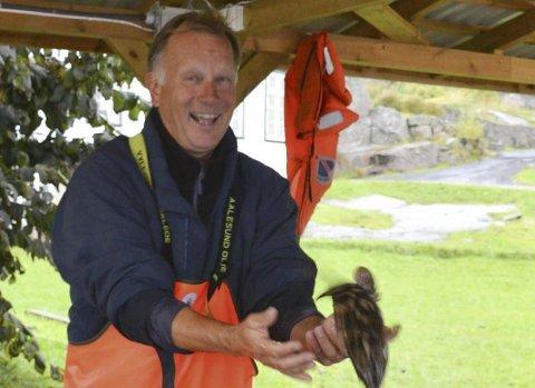 Erling Skuggevik: Driver sammen med Frode Husavik Hansen Kystleirskolen Tvedestrand, der skolelever fra østlandsområdet både tilegner seg kunnskap om sjøliv og livet i havet.  Arkivfoto