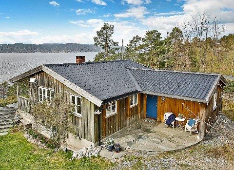 HØYE PRISER: Hyttene i Vestby er attraktive på markedet. Denne hytta gikk for 9,9 millioner kroner i sommer.