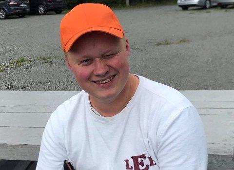 BLINK: Amund Gultvedt sikret seg Den norske Skyttermedalje i gull i et stevne i Spydeberg søndag.