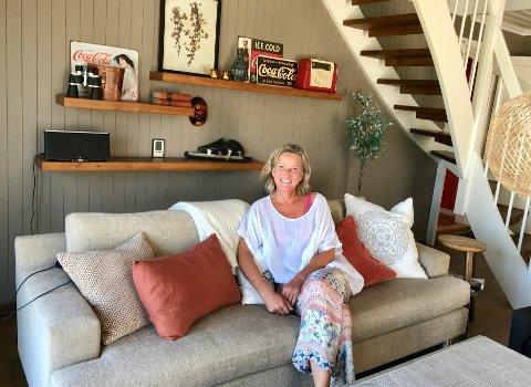 Medgang: Marie Anne Eraker driver interiørvirkeomhet i medgang på tolvte året.
