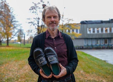 PÅ MED DANSESKOENE: Bjarne Olai Braastad er med i Norske Talenter fredag kveld.