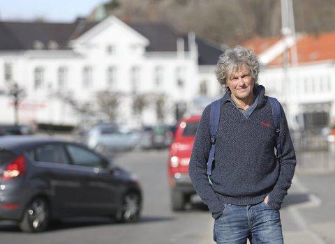 Ordførerkandidat for Rødt, Knut Henning Thygesen vil ha de andre med på lag for å posisjonere seg i forhandlingene om arbeidsgiveravgift til det beste for næringslivet i Risørregionen. (arkivbilde)
