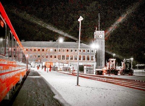 Kan det fylles hydrogen på toget i Bodø i framtida?