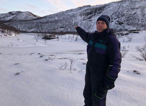 Stort prosjekt: Johan Christian Ingebrigtsen (51) har sammen med kona holdt på med et prosjekt på fjellet i over et år, og nå er de klar til å ta prosjektet et kraftig steg videre.
