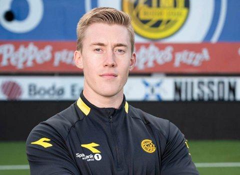 Petter Skogsletten har vært fysisk trener for Glimts talenter siden 2019.