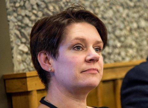 Ordfører Marte Mjøs Persen.