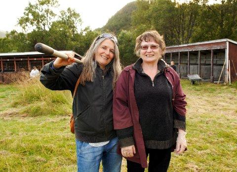 Maja Daljord og Laila Antonsen, Munningssletta dugnad,