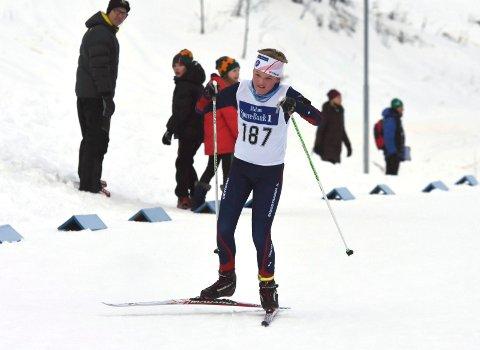 KLAR: Sindre Rosenlund er en av mange Simostrandinger som er klar for sesongfinale på Liatoppen i helgen.