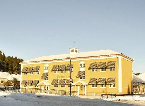 NY SKOLE: Skotselv skole kan bli ny lokalitet for en del av elevene som hittil har tilhørt Hokksund skolekrets.