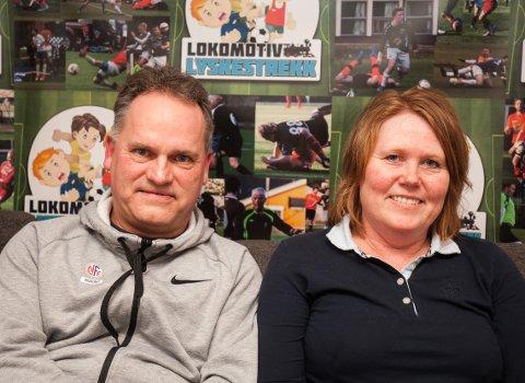 F.v: Øyvind Nilsen og Gro Larsen