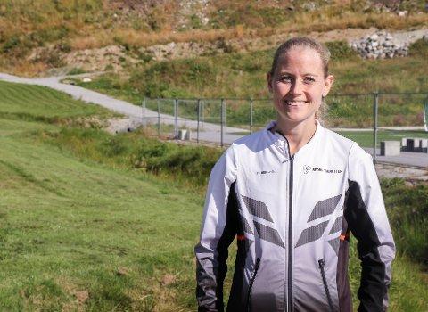 VIL FÅ FOLK UT: Trudi Aaltvedt ønsker å få i gang bedriftsidretten igjen i Sogn og Fjordane.