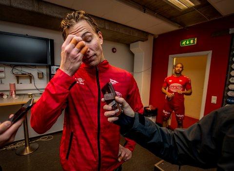 MIN SKYLD: Håvar G. Jenssen tok skylden etter å ha lagd straffe og gjort én tabbe i hjemme-tapet mot Ranheim.