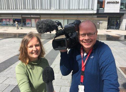 FBTV: Randi Kristoffersen og Erik Hagen vil gi deg tirsdagens byfest direkte på FBTV.