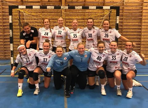 UNGT MANNSKAP: FBK-rekruttene stilte med juniorlaget mot Junkeren og Tromsø.