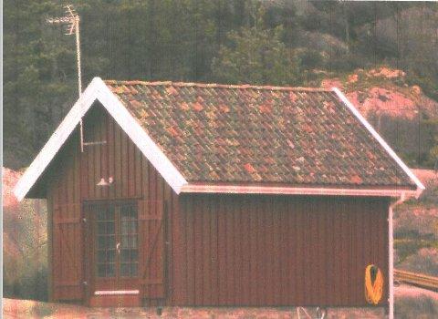Arild Åseruds omstridte sjøbu på Kjerringholmen.