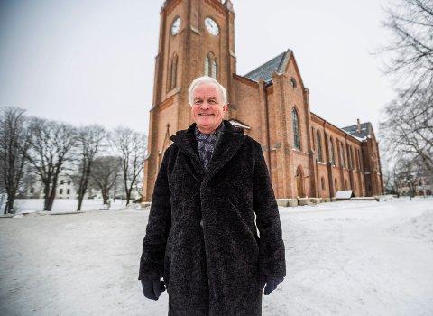 Moro på hjemmebane: Martin Alfsen har rundet 60 år, og det vil han feire med mange korvenner, blant annet i Domkirken 9. mars