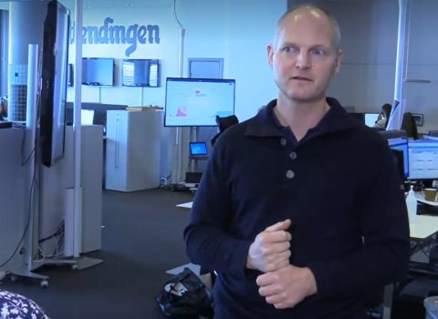 EN NÆRKONTAKT HAR PÅVIST SMITTE: I alt fire personer i Elverum har onsdag ettermiddag fått påvist smitte, opplyser kommuneoverlege Jon Iver Fougner.