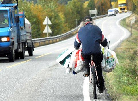 STJÅLET: Hvor ble det av sykkelen til flaskesamler Leiv Gran?