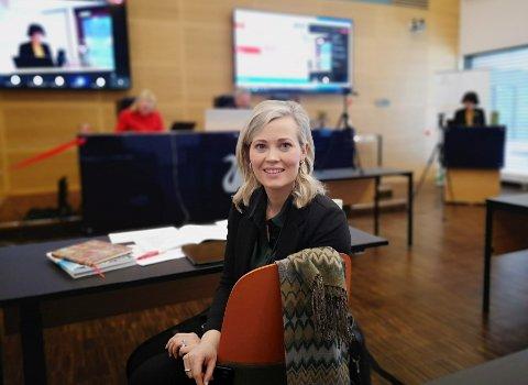 VIL BLI HØRT: Sp-leder Kjersti Bjørnstad håper at Helse Sør-Øst nå hører og flytter Mjøssykehuset tilbake til Mjøsbrua