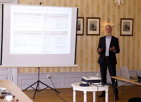 En ny dobbeltsporet jernbane hele veien til Göteborg vil bli samfunnsøkonomisk lønnsom, sa Torgeir Halvorsen fra DNB.