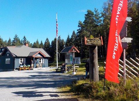 ERTEHYTTA: Søndag inviterer DNT og Barnas Turlag til den nasjonale Kom deg ut-dagen.