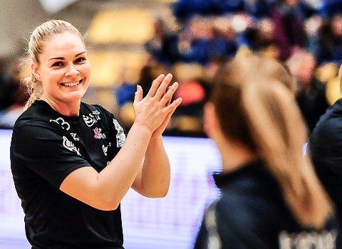 STOR KARRIERE: Pernille Wang Skaug fikk oppleve mye som håndballspiller, både i Halden og i Vipers. Hennes eget drømmelag er spekket av velkjente håndballprofiler.