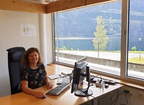 Agnes Oppistov Lykkebø er kraftverksjef ved Hydro Energi Røldal-Suldal.