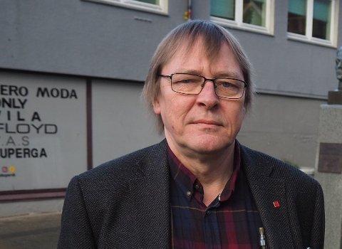 REAGERER: Geir Allan Stava i Skolenes landsforbund.
