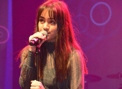 Celina Sandes Diep imponerte stort med sin sangrøst under UKM.