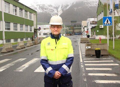 Jøran Daleng, prosjektleder Mosjøen Creep, har fått stoppordre for prosjektet til 490 millioner kroner.